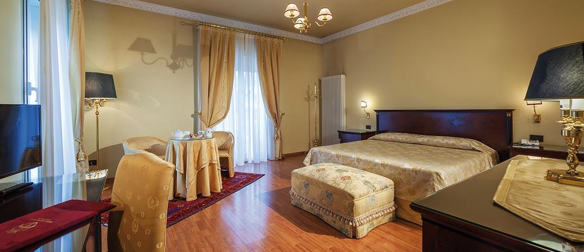 Camera doppia Junior Suite: Caratteristiche e Prezzi