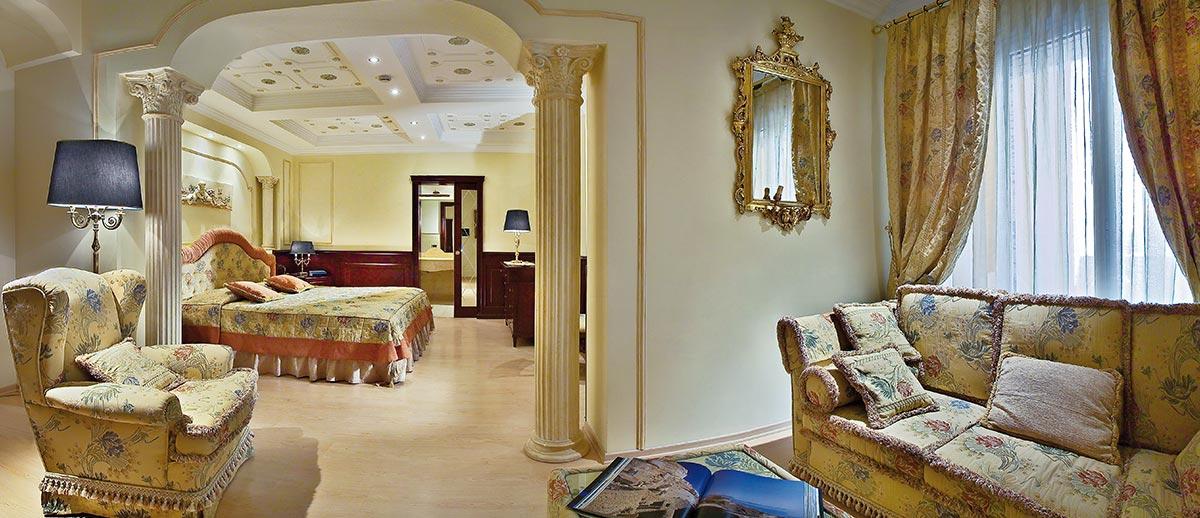 Camera doppia/matrimoniale Suite: Caratteristiche e Prezzi
